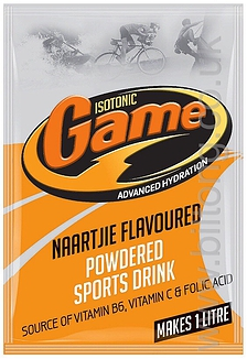 Naartjie Isotonic Game Powder 80g
