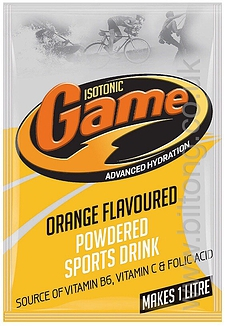 Orange Isotonic Game Powder 80g