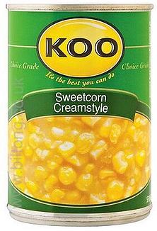 Koo Creamed Sweetcorn 420g