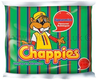 Chappies-Spearmint Gum pack of 5