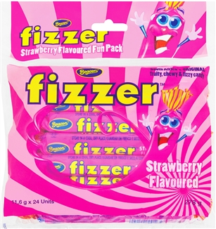 Strawberry Fizzers Beacon pack of 5