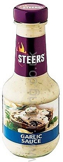 Garlic Sauce 375ml Steers