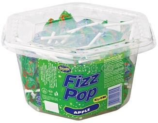 Apple Fizz Pops pack of 5