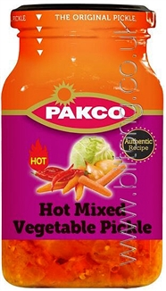 Pakco Mixed Vegetable Pickel Hot 385g