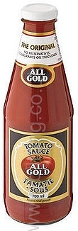 All Gold Tomato Sauce Large 700ml