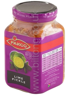Pakco Lime Pickel  430g
