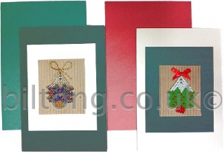 African Gift Card Christmas Trees