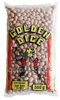 Sugar Golden Dice Red Speckled  Beans 500gm