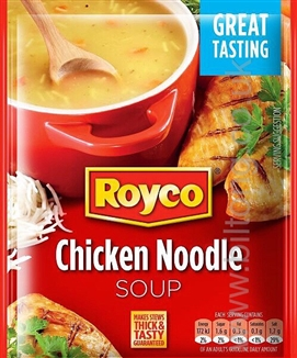 Royco Soup Chicken Noodle 50g Sachet
