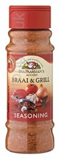 Ina Paarman Seasoning Braai & Grill 200ml Jar