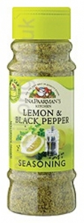 Ina Paarman Seasoning Lemon & Black Pepper 200ml Jar