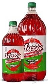 Mazoe Raspberry Syrup 2lt