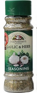 Ina Paarman Seasoning Garlic & Herb 200ml Jar