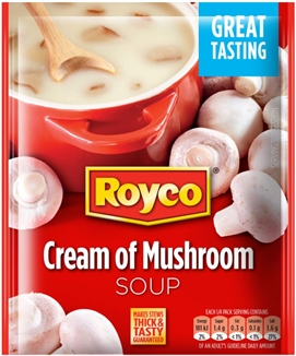 Royco Soup Cream of Mushroom 50g Sachet