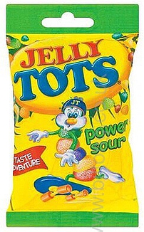 Jelly Tots  Sour 100g Wilsons