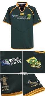 RWC 2011 Pro Home  South Africa  Rugby Shirt S/S