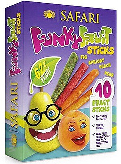Fruit Sticks pack of 10 x 25gm