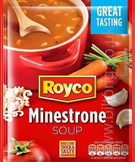 Royco Soup Minestrone 50g Sachet