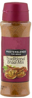Masterblends Braai Mix Seasoning 200ml