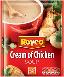 Royco Soup Cream of Chicken 50g Sachet