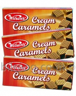 Wilsons Cream Caramels 64g