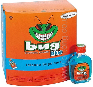 Bug Alcoholic Shooters Blue (24%) 20ml Bottle
