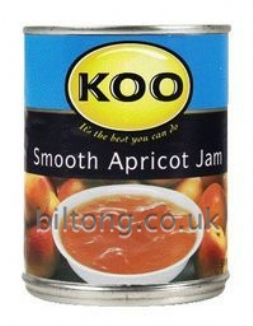 Koo Smooth Apricot  Tin Jam