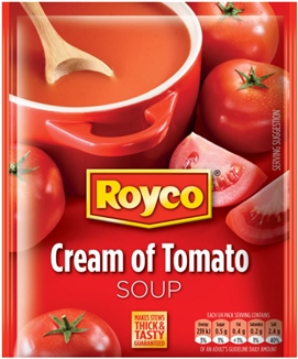 Royco Soup Cream of Tomato 50g Sachet