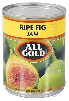 All Gold Ripe Fig  Tin Jam 450g
