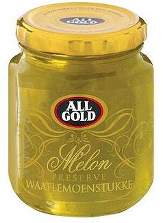 Whole Preserve Melon Jars All Gold 310g