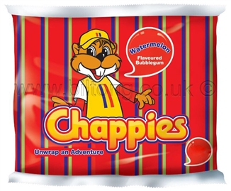 Chappies-Watermellon Gum pack of 5