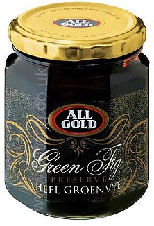 Whole Fig Preserve Jars  All Gold 320g
