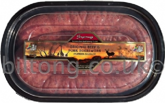 Original Beef and Pork Boerewors per 600g