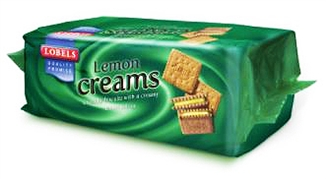 Lobels Lemon Creams 150g
