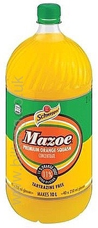 Mazoe Orange Crush 2lt