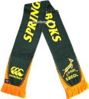 Springbok Scarf 2007 South Africa