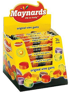 Maynhards Wine Gums roll