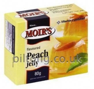 2 for 1 Moirs Peach Jelly 80g