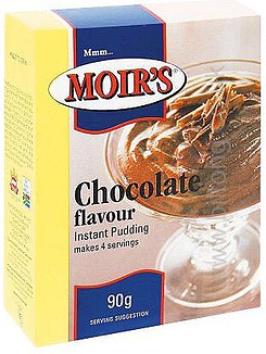 2 for 1 Moirs Chocolate Instant Puddding 90g