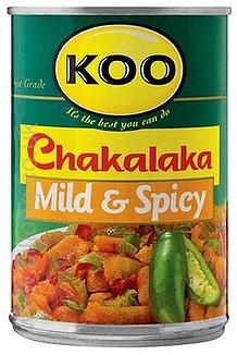 Koo Chakalaka Mild & Spicy 410g tin