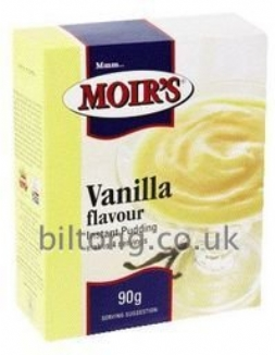2 for 1 Moirs Vanilla Instant Puddding 90g