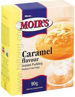 Moirs Caramel Instant Puddding 90g