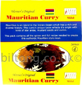 Mauritian Curry Werners Original Mild