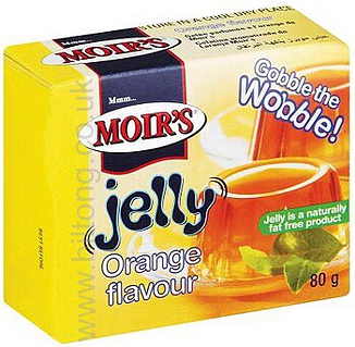 2 for 1 Moirs Orange Jelly 80g