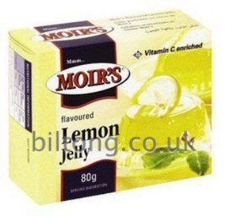 Moirs Lemon Jelly 80g