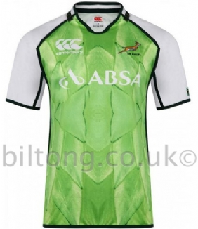 2013 Springbok Protea Warm Up Jersey S/S