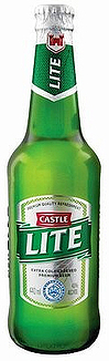 Castle Lager Light Bottles 340ml x 6