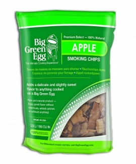 BigGreenEgg Apple Smoking Chips 2.7L
