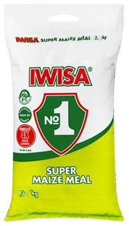 Iwisa maize meal 2 kg