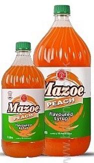 Mazoe Peach Syrup 2lt